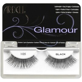 Ardell Glamour Fashion Lashes, Black [105] 1 ea