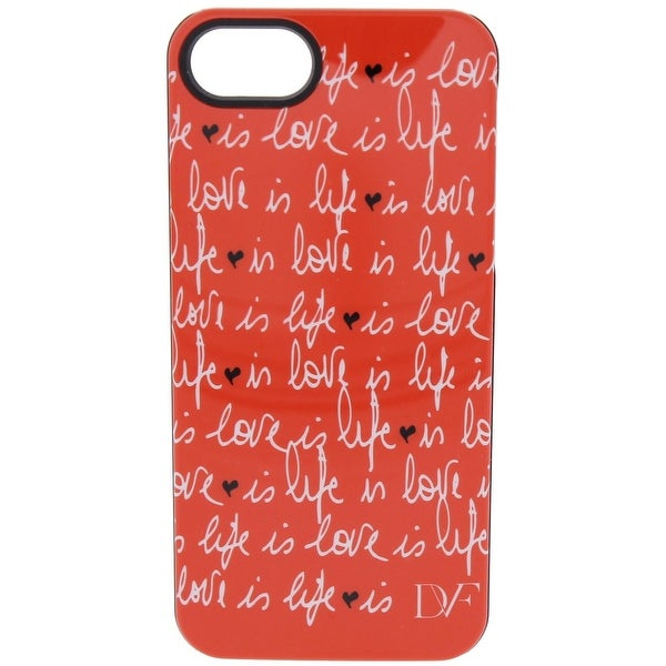buy popular adc2e b2077 Diane Von Furstenberg Love is Life Cell Phone Case iPhone 5 Graphic - O/S