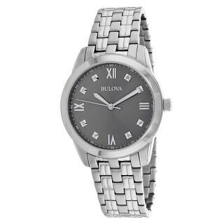 Bulova Women's Classic Silver Dial Watch