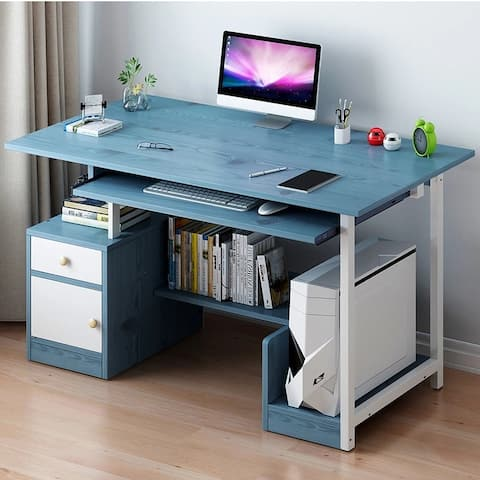 Computer Desk With Large Storage