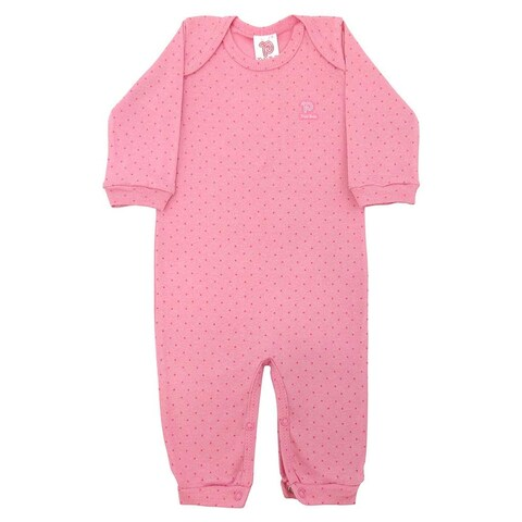 Baby Jumpsuit Unisex Romper Long Sleeve Pulla Bulla Sizes 0-18 Months
