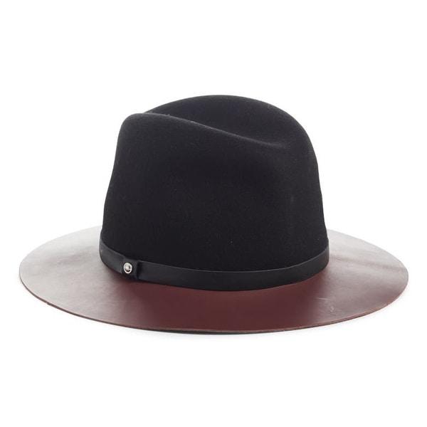 rag and bone Womens Fedora Hat. Opens flyout.