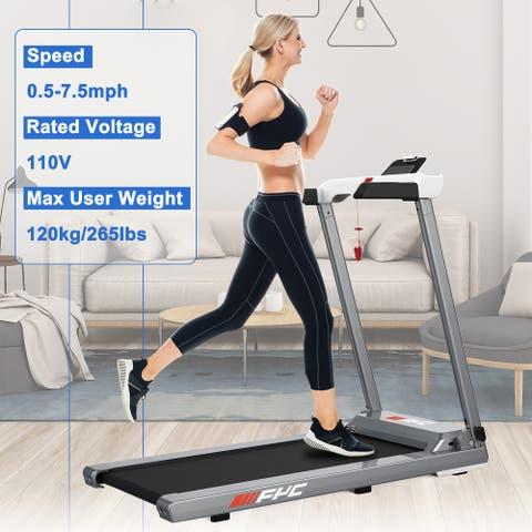 Home Portable Folding Treadmill,Electric Treadmill Compact Treadmill