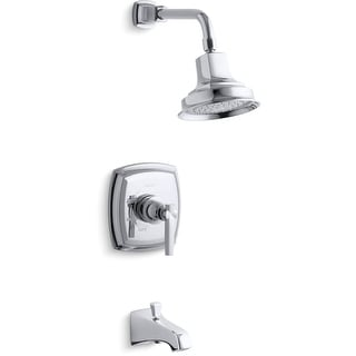 Kohler K-TS16225-4  Margaux Single Handle Tub and Shower Trim with Single Function Shower Head