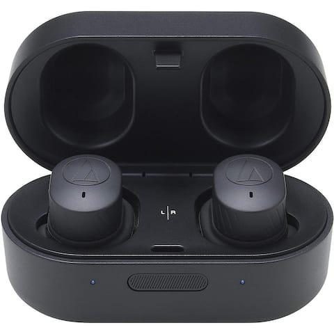 Audio-Technica ATH-SPORT7TWBK SonicSport Wireless In-Ear Headphones,