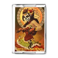 Santa Fe NM Marionettes Day of the Dead LP Artwork (Acrylic Serving Tray)