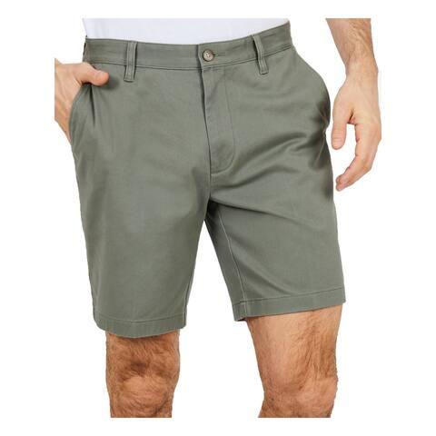 Nautica Mens Shorts Classic Fit Stretch