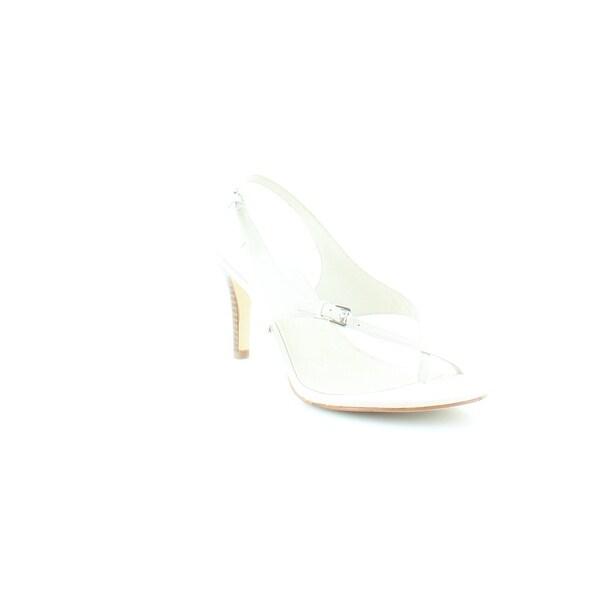 Michael Kors Eleni Thong Women's Heels Vanilla - 7.5