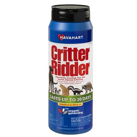 Havahart 3142 Critter Ridder Animal Repellent Granular, 2 lbs