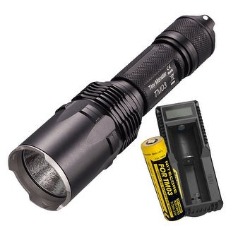 NITECORE TM03 Tiny Monster 2800 Lumen Suppressive Burst Flashlight + UM10 Charger
