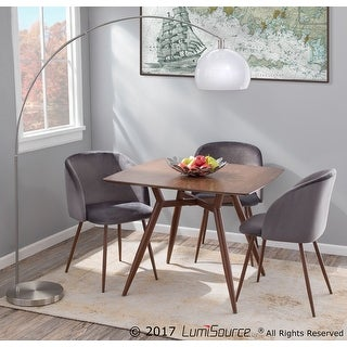 Link to Fran Velvet Upholstered Dining Chairs (Set of 2) - N/A Similar Items in Dining Room & Bar Furniture