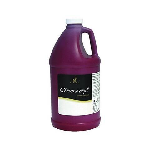 Chroma acrylics 1408 chromacryl acrylic color 1/2 gallon cool red