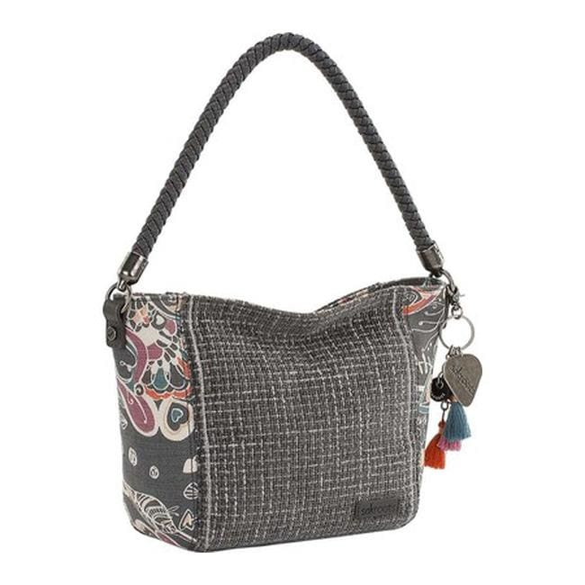 a253501149d Sakroots Women's Elsa Small Hobo Shadow Songbird - US Women's One Size  (Size None)