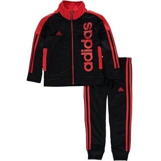 Adidas Boys 4-7X Tricot Jogger Set