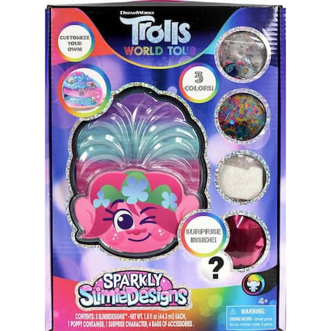 Trolls World Tour Slimie Designs Slime Making Kit - Pink