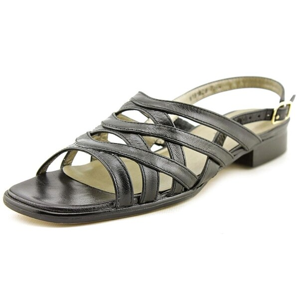 Mark Lemp By Walking Cradles Calypso Black Sandals