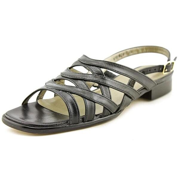 Mark Lemp By Walking Cradles Calypso Womens Black Sandals