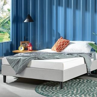 Link to Priage by ZINUS Upholstered Platform Bed Frame Similar Items in Bedroom Furniture