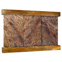 Adagio Solitude River Fountain - Square - Rustic Copper - Choose Options