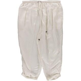 Free People Womens Tencel Blend Pleated Harem Pants - M