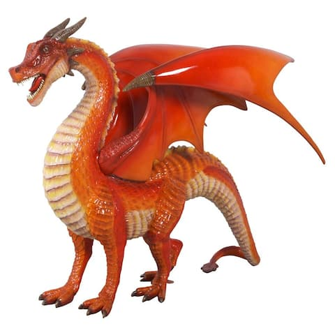 Large Welsh Dragon Statue Frt-Nr