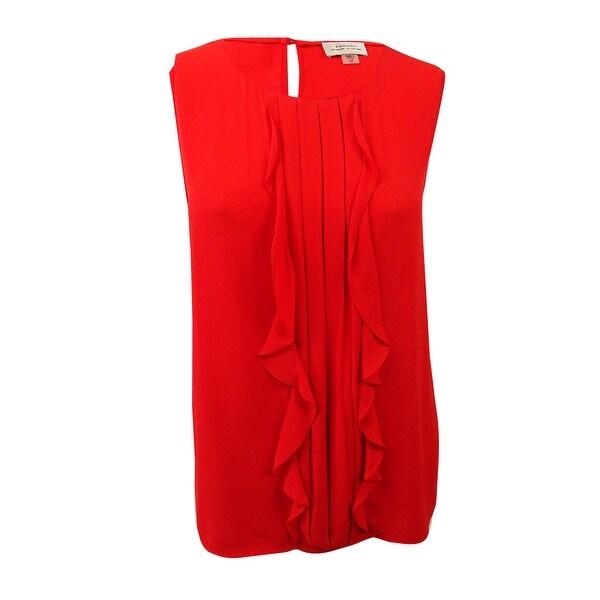 cd0275e10f0 Shop Tahari ASL Women s Plus Size Pleated Blouse (2X