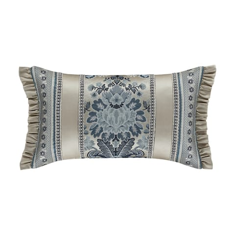 Five Queens Court Geraldine Boudoir Throw Pillow