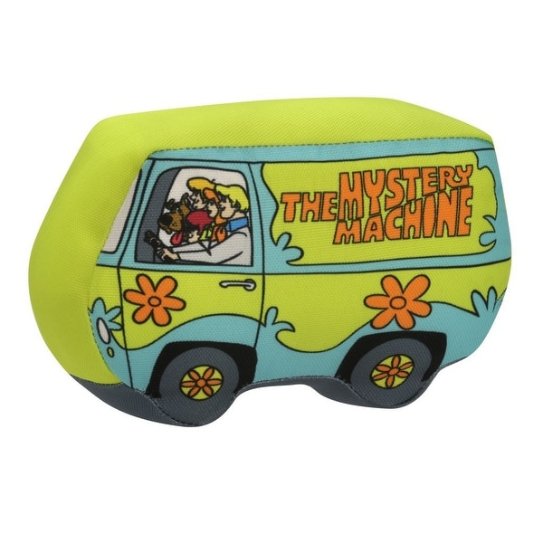 "Scooby-Doo Mystery Machine 10"" Plush Dog Chew Toy - multi"