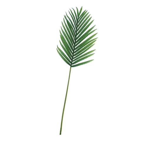 "Set of 3 Hawaiian Tropical Areca Palm Leaf Stem Greenery Spray 40.5in - 40.5"" L x 13"" W x 0.5"" DP"