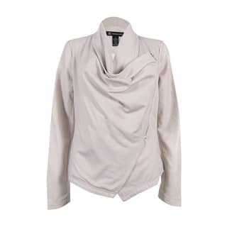 INC International Concepts Women's Draped Faux-Leather Jacket (S, Dreamy Chalk) - dreamy chalk|https://ak1.ostkcdn.com/images/products/is/images/direct/134699786190d50c7b996d3ef398ebbc20f22fcc/INC-International-Concepts-Women%27s-Draped-Faux-Leather-Jacket-%28S%2C-Dreamy-Chalk%29.jpg?impolicy=medium