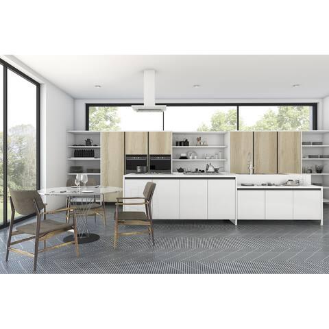 8x8 Graphic Grey Lines Porcelain Floor and Wall Tile (3.88 Sq. Ft./ 9 pcs per box)