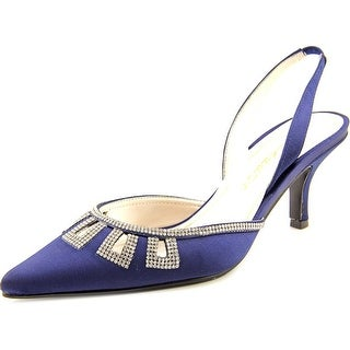 Caparros Valuable Women Pointed Toe Canvas Slingback Heel