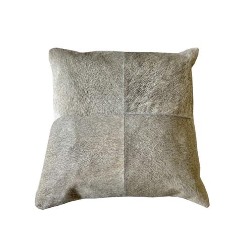 Grace Throw Pillow Grey/Beige