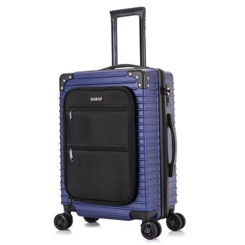 DUKAP Tour Lightweight 20'' in carry-on with integrated USB port - Blue