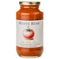 Monte Bene Pasta Sauce - Vodka - Case of 6 - 24 Fl oz.