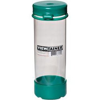 """Green - Viewtainer Tethered Cap Storage Container 2.75""""X8"""""""
