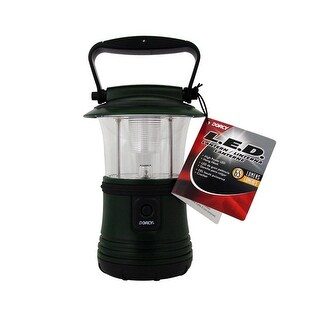 Dorcy 41-3103 LED Camping Flashlight Lantern With Hanging Hook, 65 Lumens