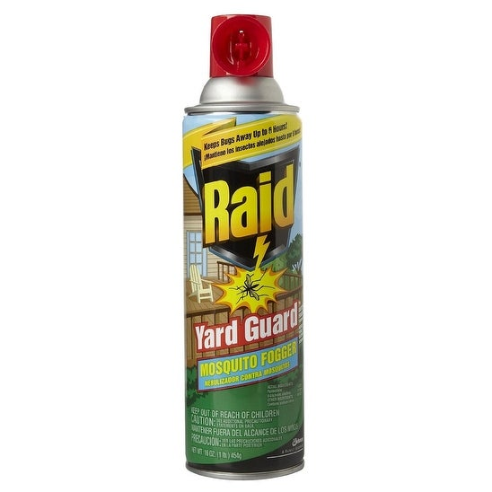 Raid 01601 Yard Guard Outdoor Mosquito Fogger, 16 Oz.