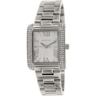 Michael Kors Women's Emery Silver Stainless-Steel Quartz Fashion Watch