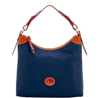Dooney & Bourke Nylon Large Erica (Introduced by Dooney & Bourke at $148 in Feb 2017) - Navy