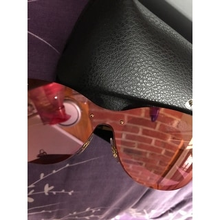 428ba225c0 Top Product Reviews for Ray-Ban RB3580N Blaze Cat Eye Sunglasses Gold  Pink  Mirror 43mm - 20603390 - Overstock