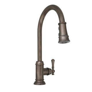 Mirabelle MIRXCAM100 Amberley Pullout Spray Kitchen Faucet with High Arch Gooseneck Spout - N/A
