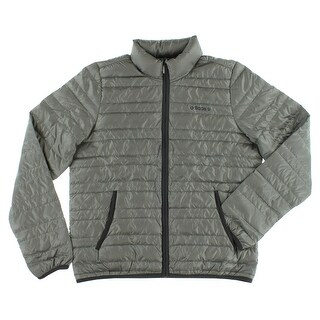 Adidas Mens Lightweight Down Jacket Grey - Grey/Dark Grey