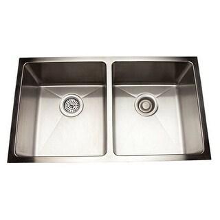 """Mirabelle MIRUC3118 30-7/8"""" Double Basin Undermount Kitchen Sink"""