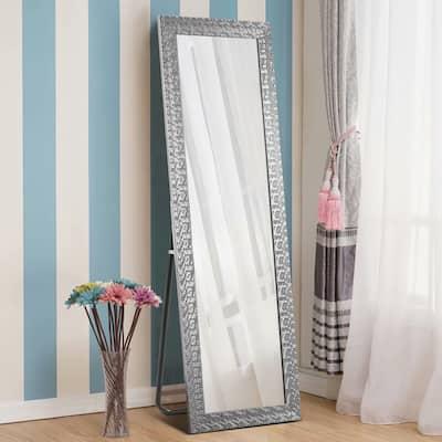 Sleek Style Thin Framed Full-Length Mirror Floor Mirror With Standing