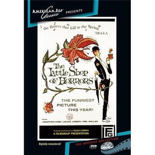 The Little Shop Of Horrors DVD Movie 1960