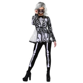 Women's Fierce Skeleton Costume
