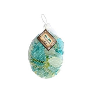 BCI Crafts Gathered Sea Glass Mix Green & Yellow