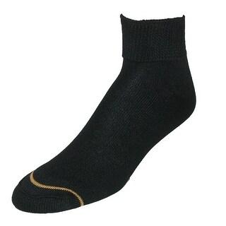 Gold Toe Women's Non Binding Quarter Socks (2 Pair Pack)