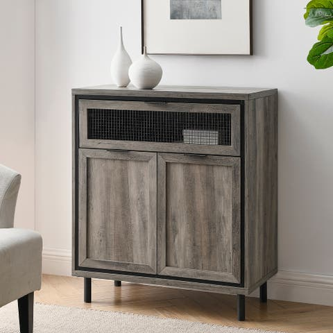 Carbon Loft Drop-Down, 2-Door Accent Cabinet